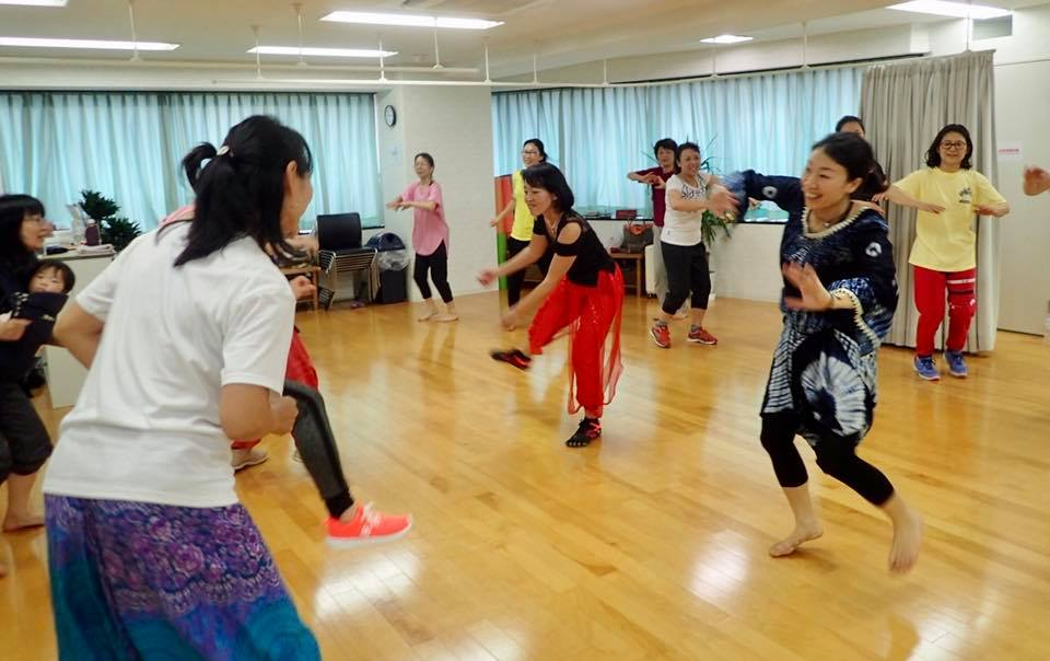 アフリカンダンス 牛窓 africain dance